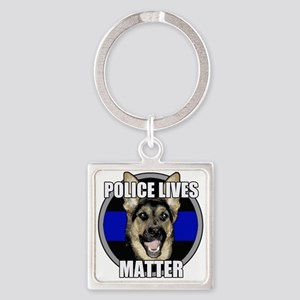 Police lives matter Square Keychain