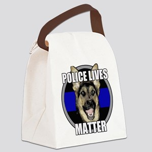 Police lives matter Canvas Lunch Bag