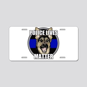 Police lives matter Aluminum License Plate