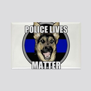 Police lives matter Rectangle Magnet