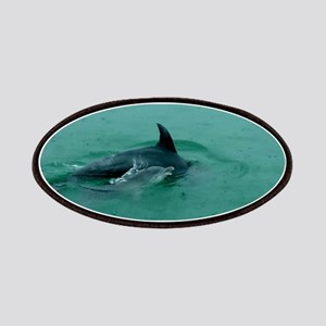Natural Mother Dolphin and Baby Patch