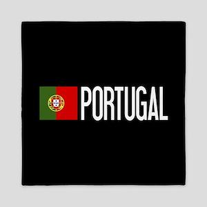 Portugal: Portuguese Flag & Portugal Queen Duvet
