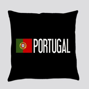 Portugal: Portuguese Flag & Portug Everyday Pillow