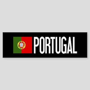 Portugal: Portuguese Flag & Portu Sticker (Bumper)