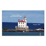 Fairport Harbor West Breakwater Light Sticker