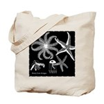 Midnight Busy Ocean Tote Bag