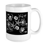 Midnight Busy Ocean Large Mugs