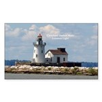 Cleveland Harbor Main Entrance Light Sticker