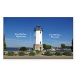 Fond Du Lac Lighthouse Sticker