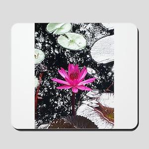Pink Flower Mousepad