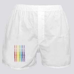 Flutes 7 Rainbow Boxer Shorts