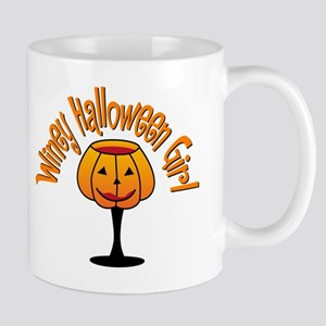 Winey Halloween Girl Mug