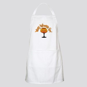 Winey Halloween Girl BBQ Apron