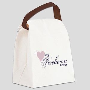 Percheron horses Canvas Lunch Bag