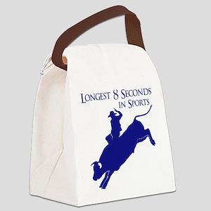 LONGEST 8 SECONDS Canvas Lunch Bag