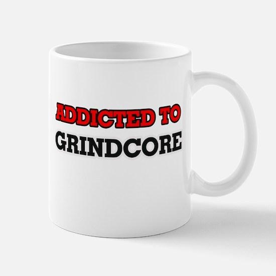 Addicted to Grindcore Mugs