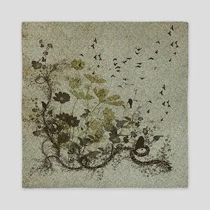 Wonderful floral design Queen Duvet
