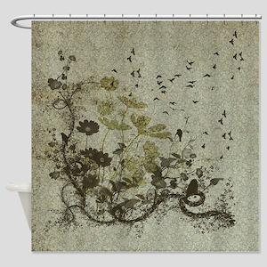 Wonderful floral design Shower Curtain