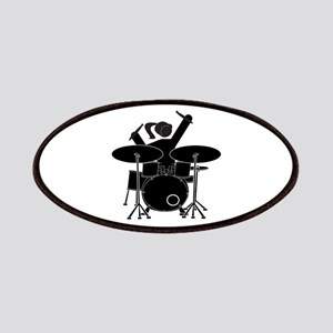 Drummer Girl Patch
