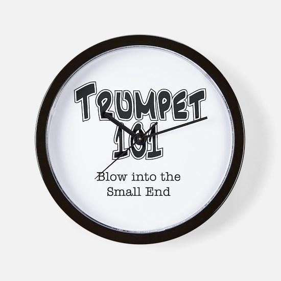 Trumpet 101 Wall Clock