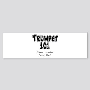 Trumpet 101 Bumper Sticker