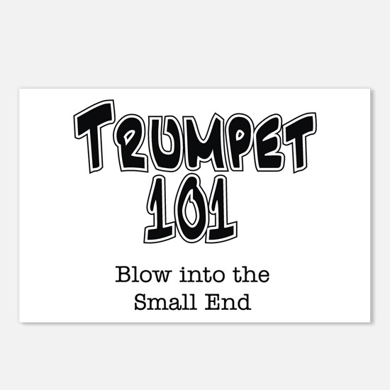 Trumpet 101 Postcards (Package of 8)