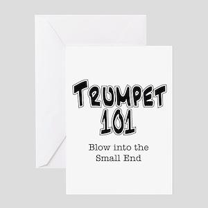Trumpet 101 Greeting Card