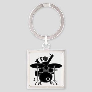 Drummer Girl Keychains