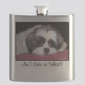 Cute Shih Tzu Dog Flask