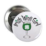 Irish Wine Girl Button