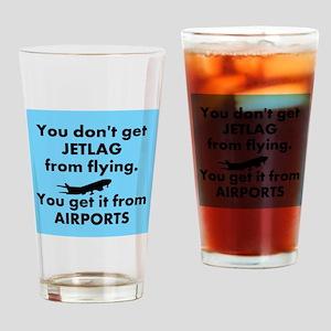 Jetlag Drinking Glass