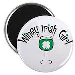 Winey Irish Girl Magnet