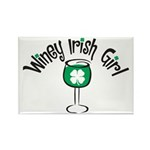 Winey Irish Girl Rectangle Magnet (10 pack)