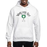 Winey Irish Girl Hooded Sweatshirt