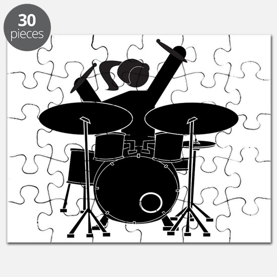 Drummer Girl Puzzle
