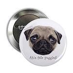 Personalised Wee Scottish Shug The Pug 2.25