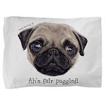 Personalised Wee Scottish Shug The Pug Pillow Sham