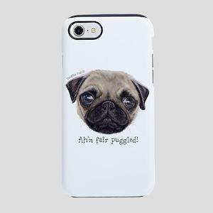 Personalised Wee Scottish Shug The Pug iPhone 8/7