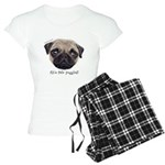 Personalised Wee Scottish Shug The Pug Pajamas