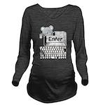 Enter Long Sleeve Maternity T-Shirt