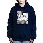 Enter Women's Hooded Sweatshirt