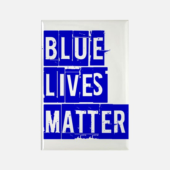 BLUE LIVES MATTER Magnets
