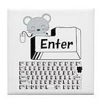 Enter Tile Coaster