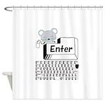 Enter Shower Curtain