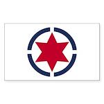 Star of David Shield Sticker