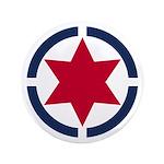 Star of David Shield Button