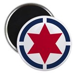 Star of David Shield Magnets