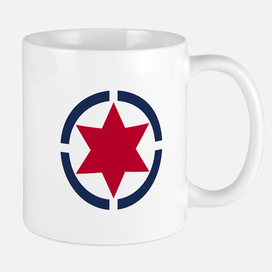 Star of David Shield Mugs