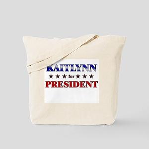 KAITLYNN for president Tote Bag