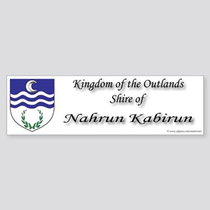 Nahrun Kabirun Bumper Sticker